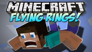 Minecraft FLYING RINGS & MORE MOD! Mod Showcase [1.4.7