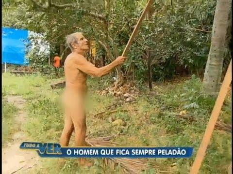 Tudo a Ver 24/08/2012: Conheça o homem que vive pelado no Maranhão