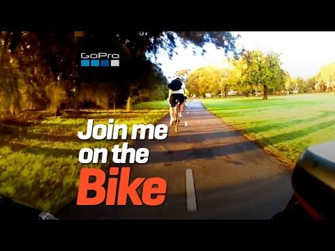 GoPro bike ride thru Perth Australia