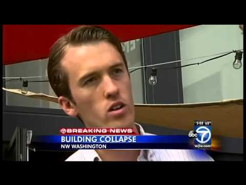 Partial building collapse in D.C.