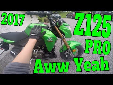 Z125 PRO FIRST RIDE! (2017 KAWASAKI GROM) (1/3)