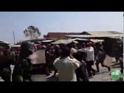 Cambodian Commandos Crack Down on Worker Protest