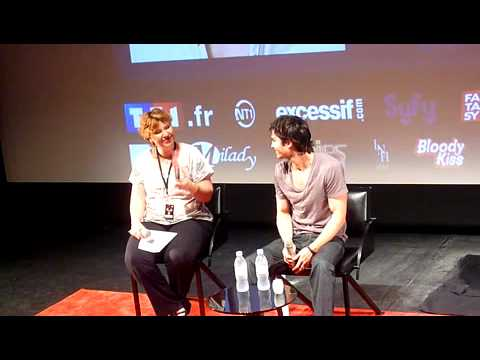Ian Somerhalder Convention WTMF2 @Paris Q&A 27/05/2012 Part 2