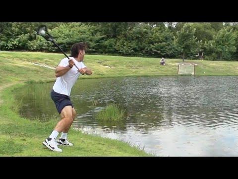 Lacrosse Trick Shots | Dude Perfect