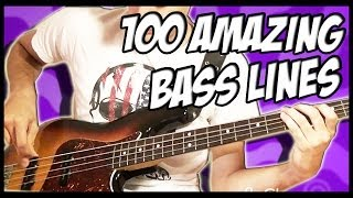 100 Amazing Bass Lines