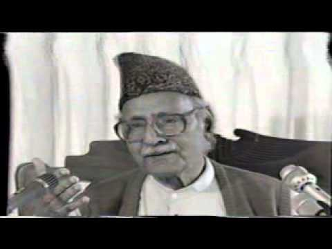 IQBAL DAY (22 Apr Khulqe Khuda Ki Ghat Main) part 02 by Ghulam Ahmed Parwez recorded by tolueisla