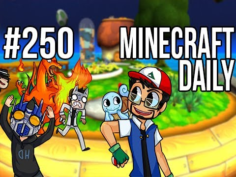 Minecraft Daily | Ep.250 | Ft. Kevin, ImmortalHd and Steven | Snorlax eats Healthy!?