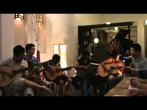 Dat Viet Got Talent - Anh Khoa Music - Rhythm Of The Rain - Guitar Group Performance - Đêm Bán Kết