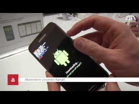 Samsung Galaxy S5 Downloadmodus - MWC 2014 - androidnext.de