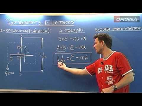 Dica de Física - Geradores Elétricos - Oficina do Estudante cursinho vestibular e colégio
