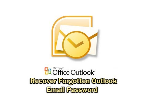 how to get password from outlook