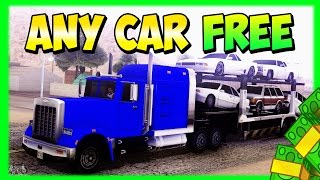 GTA 5 Online FREE CARS GLITCH After Patch 1.16 Any Car