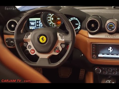 2015 Ferrari California Turbo INTERIOR Review Price $200,000 Ferrari Turbo Commercial CARJAM TV 2014