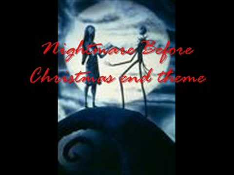 Nightmare Before Christmas end theme - YouTube