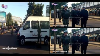 بالفيديو..إنزال أمني كبير بمنطقة ولاد زيان بعد شغب المهاجرين من افريقيا جنوب الصحراء |