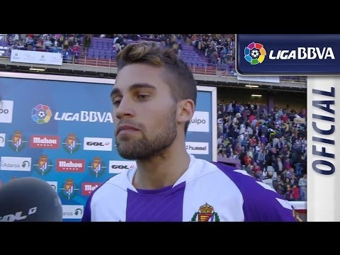 Entrevista | Interview Rossi tras el Real Valladolid (1-0) FC Barcelona - HD
