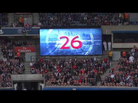 PSG / SC Bastia 19.10.2013 : 4-0 (L1) 3/8 : Composition du PSG