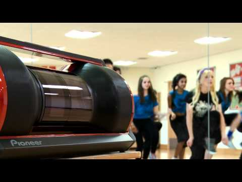 Steez Type Z boombox used to teach Street Dance (dance teacher testimonial)