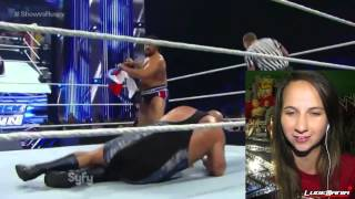 WWE Smackdown 9/26/14 Rusev vs Big Show Live Reactions