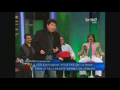 Los Atletas de la Risa, Ruddy Rey, Ivan Arenas, Luis Arenas Jr. Charly Badulaque (COMPLETO)