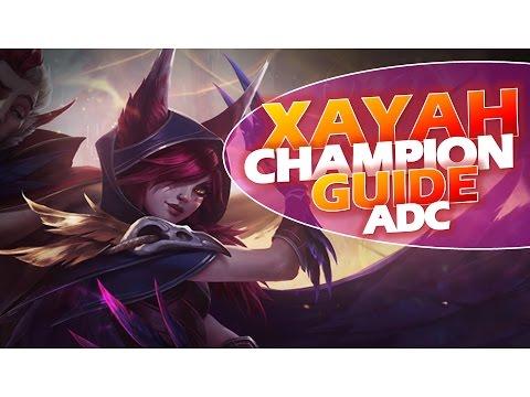 Xayah ADC GUIDE Deutsch   Combos + Itembuilds + Runes & Masteries + Tipps   League of Legends