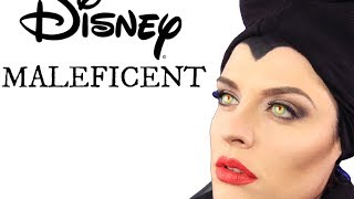 Disney Maleficent Angelina Jolie Makeup Tutorial 2014