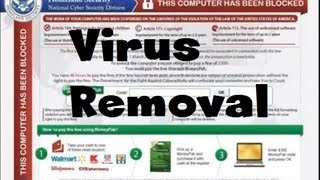 How To Remove FBI Homeland Security Virus Ransomware In 3