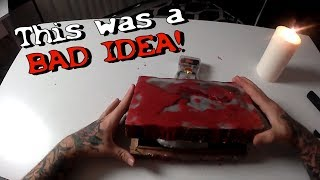 Opening a Real Cursed Dybbuk Box (Gone Wrong) Very Scary Demon Box 3AM