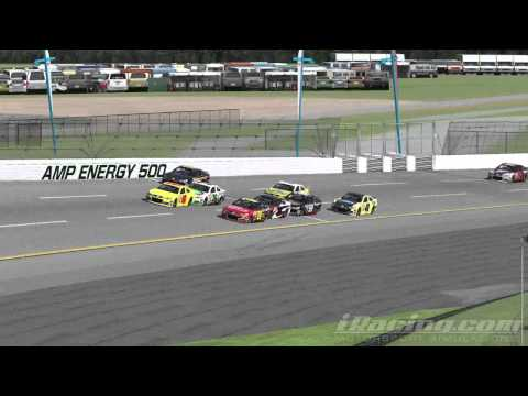 iRacing Pack Racing At Talledega In The Gen 6 Chevy SS Realistic Crash