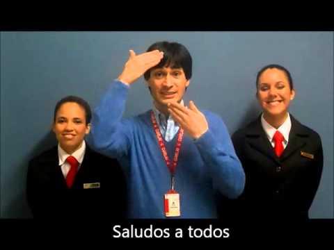 1 Vídeo Lengua de Señas Venezolana en la Hotelería