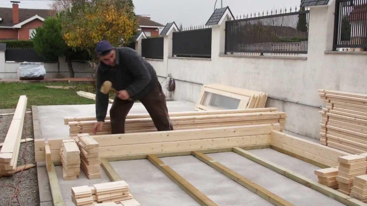 Casas prefabricadas madera como construir una casa de madera - Construir altillo madera ...