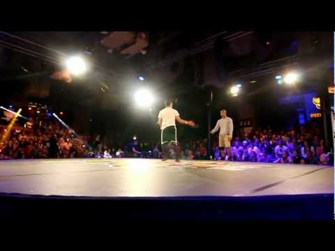 Red Bull BC One 2012 - Western European Qualifier Semi Final 1 - Khalil vs Lagaet