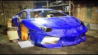 Replica Lamborghini Aventador / Строим спорт-кар в Гараже! . Илья Стрекаловский