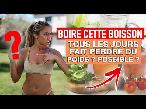 BOIRE CETTE BOISSON TOUS LES JOURS FAIT MAIGRIR ?!