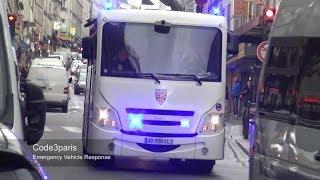 Convoi De CRS Police // Riot Police Convoy In Paris