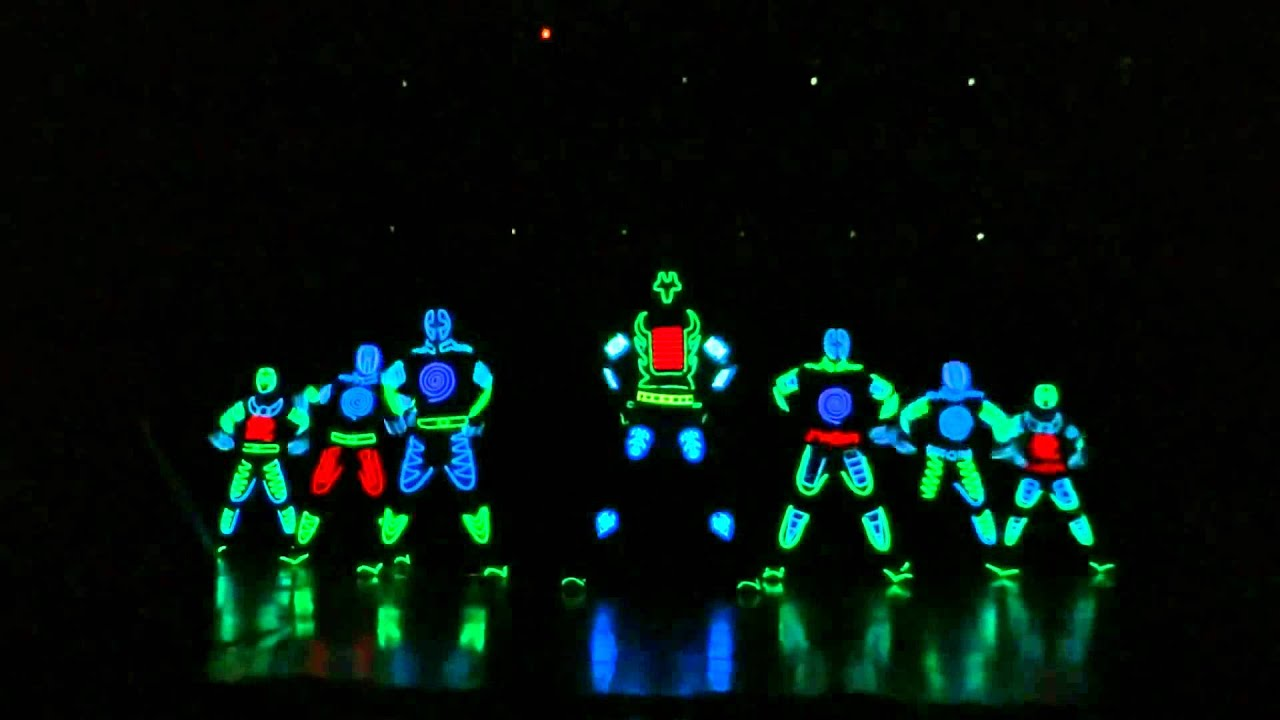 samsung galaxy s4 launch tron led dance by skeleton dance