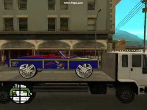 GTA SAN ANDREAS CHEVY DONK MOD PART 10