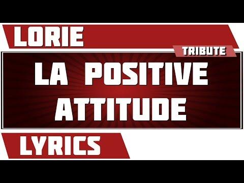 La Positive Attitude - Lorie - paroles