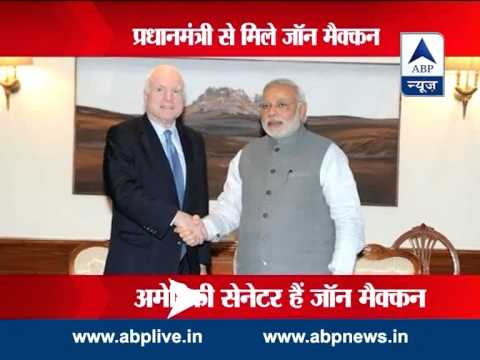 US Senator McCain meets Modi to revitalise US-India relationship