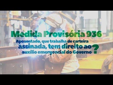 MP 936 | Aposentado e auxílio emergencial: tem dir