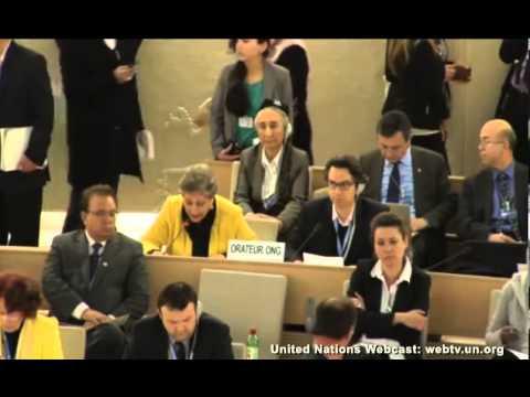 CFI representative Raheel Raza advocates religious freedom in Pakistan at the UN