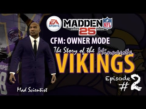 MADDEN 25 CFM Owner Mode Ep2: Minnesota Vikings