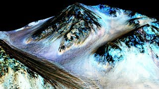 PURE Water Ice Discovered Beneath MARS Surface
