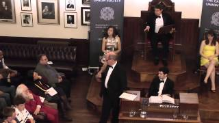This House Would Fight For Queen and Country, The Cambridge Union Society
