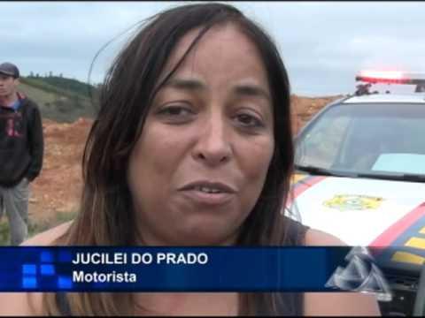 ACIDENTE BR 146 -  POÇOS ANDRADAS