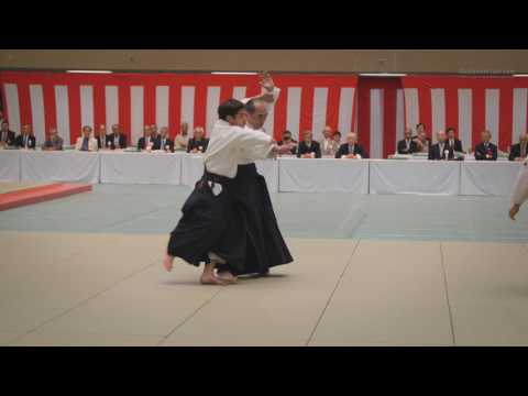 Tada Hiroshi Shihan - All Japan Aikido 2017