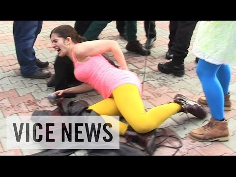 Pussy Riot Gets Whipped in Sochi