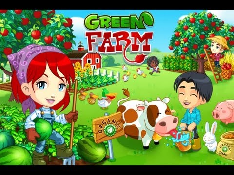 green farm touch screen for windows