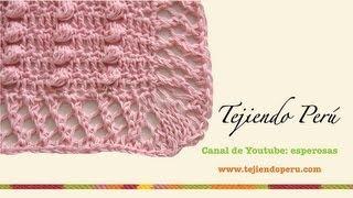 Manta O Colcha Para Bebé En Crochet Y Aguja Circular
