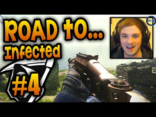 """SNEAKY SPOT!"" - Road To - KEM Infected #4 LIVE w/ Ali-A! - (Call of Duty: Ghost Gameplay)"
